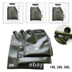 10/20/30L Car Motorcycle Universal Folding Oil Bag Spare Gas Fuel Tank Jerry Can