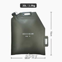 10L 20L 30L Folding Oil Bag Spare Gas Fuel Petrol Tank Jerry Can Car Motorcycle