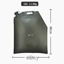 10L 20L 30L Folding Oil Bag Spare Gas Fuel Tank Jerry Can Car SUV Motorcycle ATV
