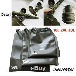 1PC 10L 20L 30L Car Motorcycle ATV Folding Oil Bag Spare Gas Fuel Tank Jerry Can