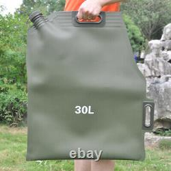 20L Portable Car Motorcycle Soft Oil Bag Cans Spare Oil Fuel Tank Gasoline Can