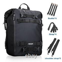 3PCS Universal Motorcycle Fuel Tank Bag Outdoor Shoulder Bag Rear Seat Luggage
