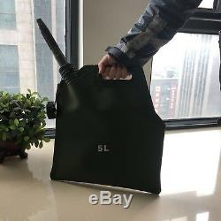 5L Portable Car Motorcycle Soft Oil Bag Petrol Cans Spare Oil Storage Fuel Tank