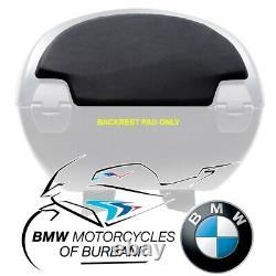 BMW Motorrad Motorcycle Genuine (K71) F800GT Top Case 28 liter, Small, Backrest