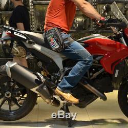 Black Motorcycle Oil Fuel Tank Bag Magnetic Riding Waterproof Bag