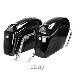 Black Motorcycle side boxs Luggage Tail Motorcycle Tank Bag motorcycle trunk