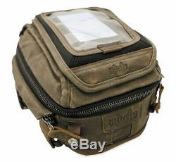 Burly MOTORCYCLE HARLEY Voyager Tank/Tail Bag Dark Oak B15-1010D