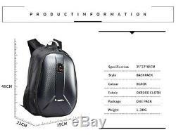 Car Motorcycle Backpack Tank Bag Carbon Fiber Helmet Travel Luggage Computer Bag
