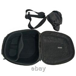 Carbon Fiber Motorcycle Buckle Fuel Tank Bag Hard Shell Riding Storage with Cover