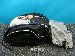 Chicane CanyonEX Expandable motorcycle reflective tank bag black Universal Fit