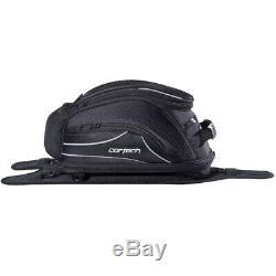 Cortech Super 2.0 12-Liter Strap Mount Motorcycle Tank Bag