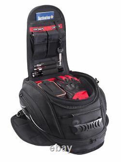 Cortech Super 2.0 12L Motorcycle Tank Bag Magnetic Mount