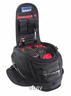 Cortech Super 2.0 18-liter Motorcycle Tank Bag Magnetic Mounting 8230-0505-18