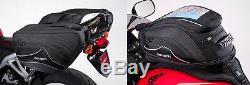 Cortech Super 2.0 36L Saddlebags & 18L Strap Mount Tank Bag Motorcycle Luggage