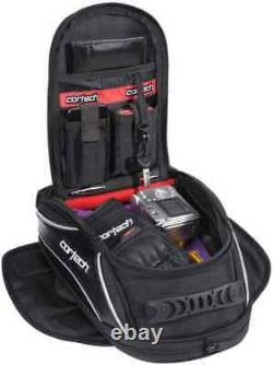 Cortech Super 2.0 Low Profile Strap Mount Street Riding Motorcycle Tank Bag
