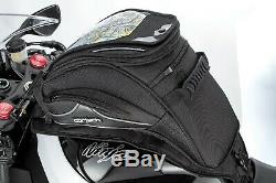 Cortech Super 2.0 Sloped 18-Liter Strap Mount Motorcycle Tank Bag Luggage 18L