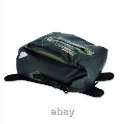 Ducati Motorcycle Scrambler Urban Enduro Tank Bag Black Green NEW 96780471A