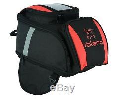 EVO Motorbike Motorcycle Magnetic Tank Bag GPS Phone Holder Water Proof Strong