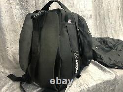 Eclipse Motorcycle Expandable Tank Bag VINTAGE Black