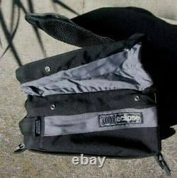 Eclipse Motorcycle Expandable Tank Bag with Raincover and Brochure
