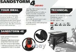 Enduristan Sandstorm 4E Enduro Tank Bag, Dual Sport Motorcycles, Black, LUTA-005