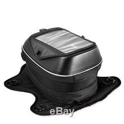 For BMW Motorcycle Tank Bag Magnetic Oil Fuel Tank Bags Waterproof Bag Black