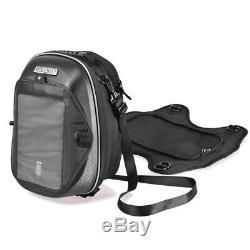 For Suzuki Motorcycle Tank Bag Magnetic Oil Fuel Tank Bags Waterproof Bag Black