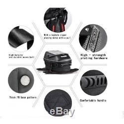 For Triumph Motorcycle Tank Bag Magnetic Oil Fuel Tank Bags Waterproof Bag Black