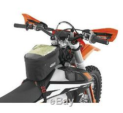 GIVI Motorcycle ATV Dirt Bike Waterproof Strap-On Tank Bag with Map Cell Pocket