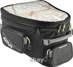 GIVI Tanklock Expandable Motorcycle Tank Bag for Enduro/Adventure 25 Liter EA118