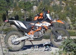 Giant Loop Diablo Tank Bag Pro Orange Motorcycle Off Road Dual Sport Adventure
