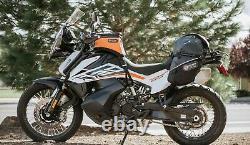 Giant Loop Fandango Pro Universal Motorcycle Tank Bag, Black, FTBP18-B, 269-0203