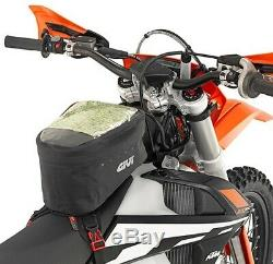 Givi 6 Liter Waterproof Motorcycle Dual Sport Tank Bag Strap Mount GRT706