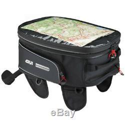Givi EA102 Easy Expandable Motorcycle Motorbike Tank Bag Map Holder 25 Ltrs