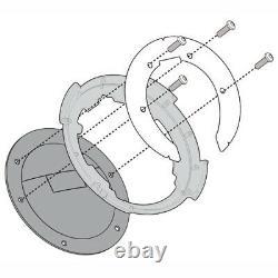 Givi EA117 26 Litre Motorcycle Tank Bag & BF03 Tank Ring Flange Black