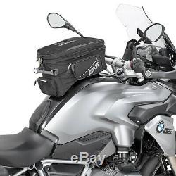 Givi EA118 25 Litre Motorcycle Tank Bag & BF17 Tank Ring Flange Black
