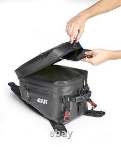 Givi GRT715 20 Litre Adventure Motorcycle Motorbike Strap Tank Bag Black
