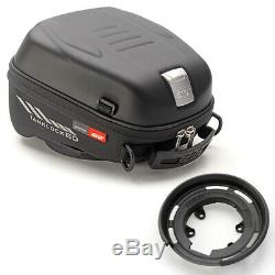 Givi Motorcycle Tank Bag ST605 5L with Adapter for Ducati Black New