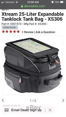 Givi Motorcycle tank-lock tank bag
