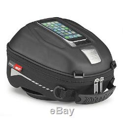 Givi ST602 Tanklock Motorcycle Tank Bag With Phone Holder 4 ltr. Quick Release