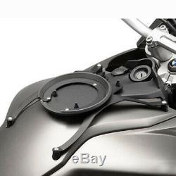 Givi ST603B 15 Litre Motorcycle Tank Bag & BF15 Tank Ring Flange Black