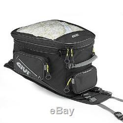 Givi Tank Bag for Motorcycle Enduro Expandable Reinforced 25LT EA110B