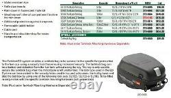 Givi Tanklock 25 Liter Motorcycle Tank Bag, Expandable Enduro, Black, Ea118