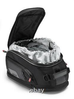 Givi XS307 15 Litre Motorbike Motorcycle Tank Bag & BF20 Ring Flange Black