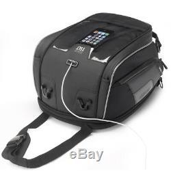 Givi Xs307 Xstream Range Motorcycle Bike Reflective Tanklock Expandable Tank Bag