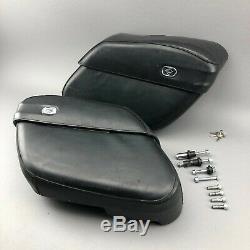 Harley-Davidson Sportster XL 883 XL1200 Kofferset abschließbar mit Schlüsseln