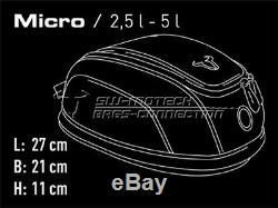 Honda CBR500R from Year 16 Quicklock Evo Micro 5L Motorcycle Tank Bag Ring Set