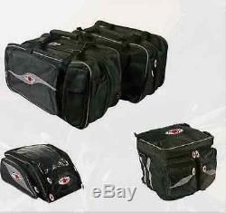 Honda Universal Motorcycle Koji 2 Pannier Bags Tank Bag + Rear Bag Italian