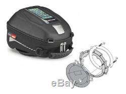 Honda VFR 800 Vtec Yr 02-11 Motorcycle Tank Bag Set Givi ST602 + Ring New