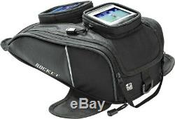 Joe Rocket Hammerhead Motorcycle Tank Bag Touring Luggage Black/Carbon
